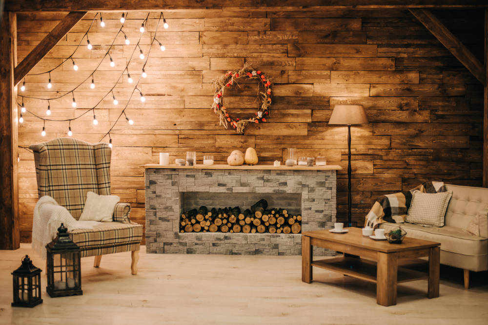 huge discount 13211 35618 How To Decorate A Boring Fireplace Using Decorative Lights?